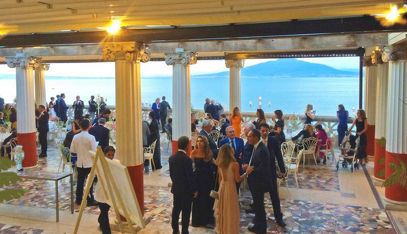 Italian Wedding Party Venue