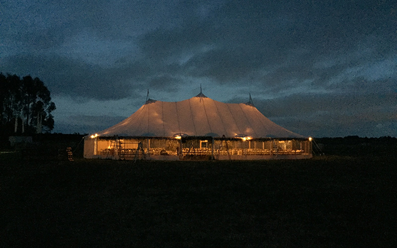 Wedding Tent flagship events