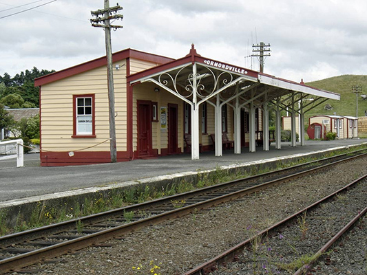 Ormondville Railway Station