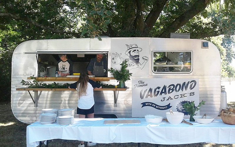 Mobile food catering truck Vagabond Jacks