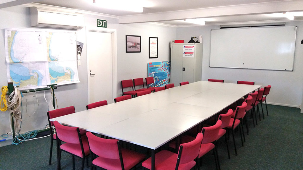 Crew Room at HB Coastguard