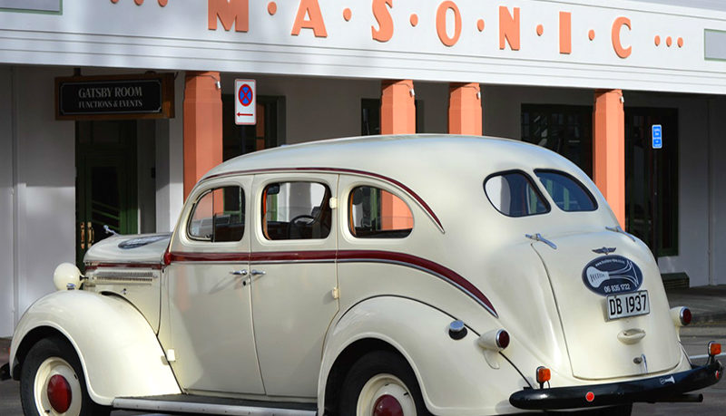 Hooters Classic Napier Car hire