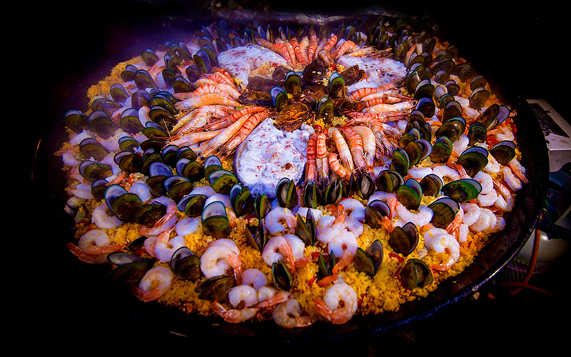 Party Catering Paella a go go