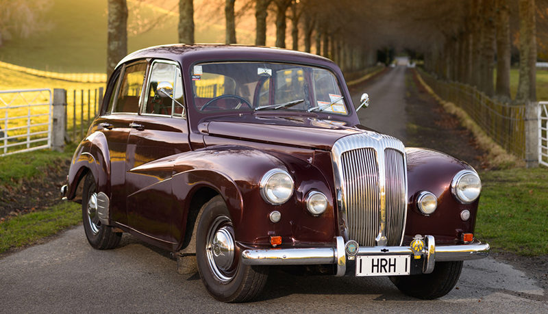 Daimler Napier Classic Cars for hire