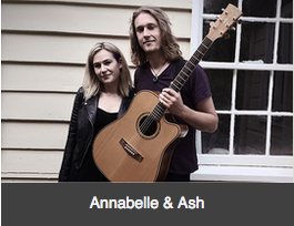 Annabelle and Ash musicians