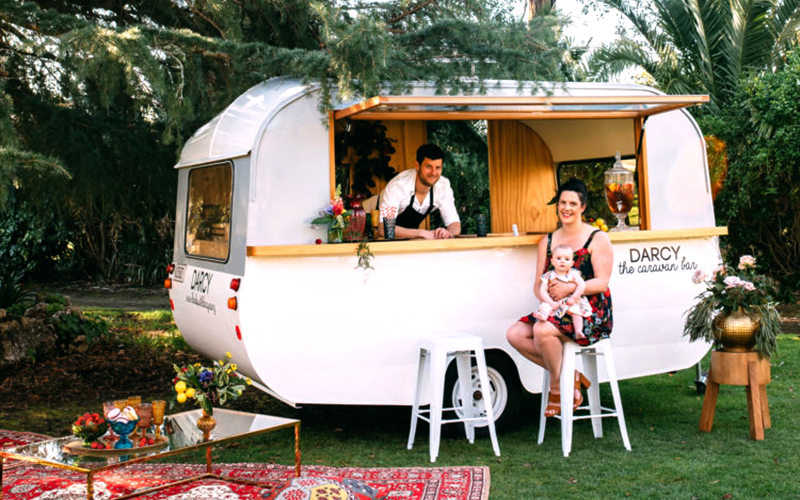Darcy Caravan Bar Hawkes Bay events