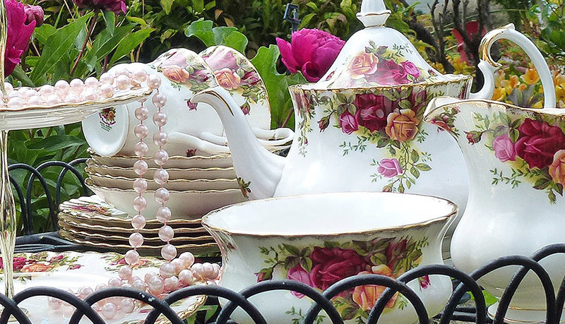 Garden party High Tea Hire