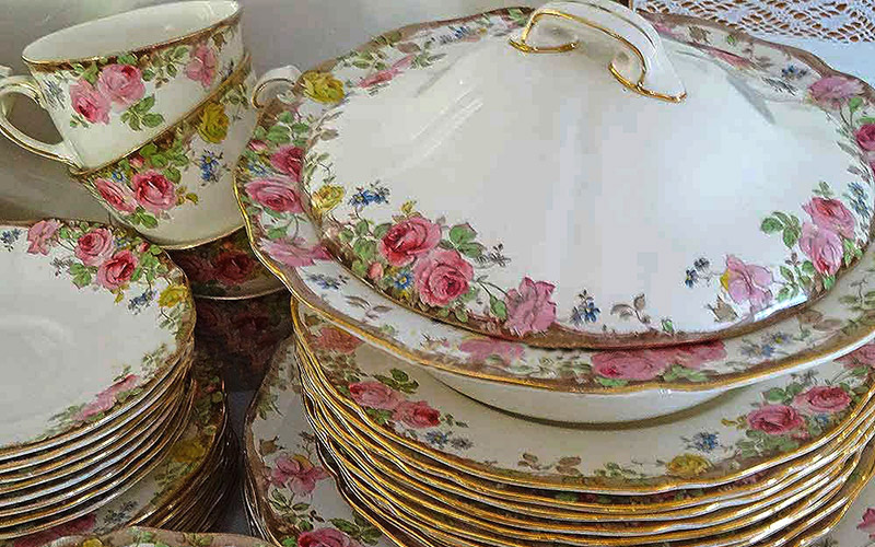 Royal Dalton Dinner service High Tea Hire