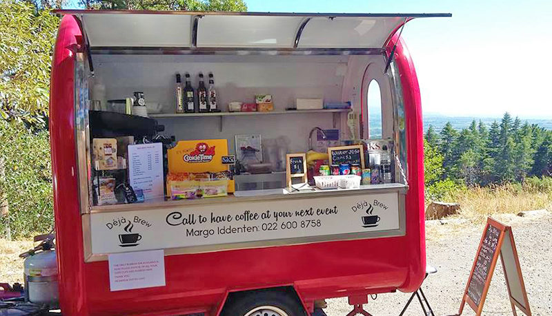 Coffee van hawkes Bay Deja Brew