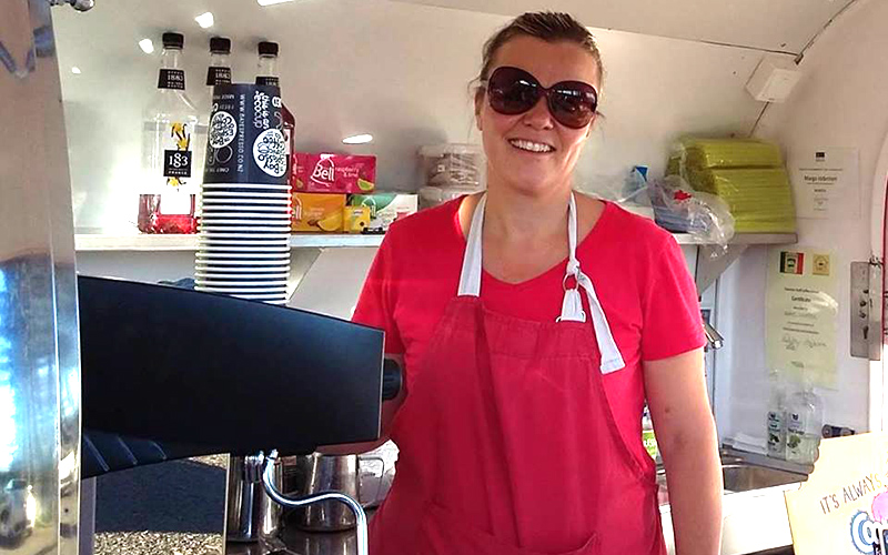 Deja Brew mobile coffee Hawkes bay