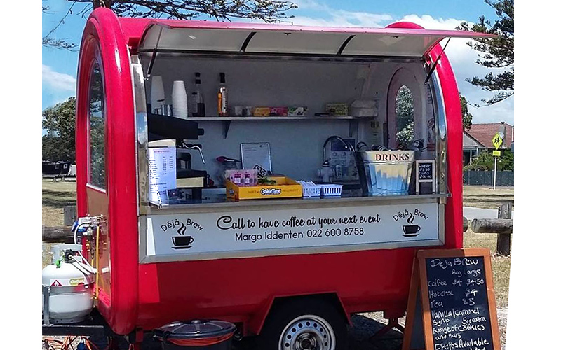 Mobile coffee Hawkes Bay Deja Brew