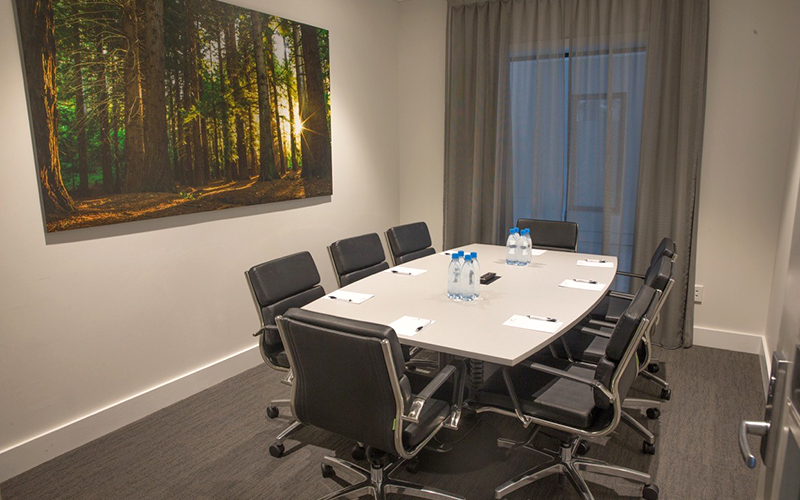 Redwoods Boardroom at Porters Hotel