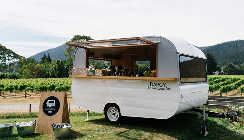 Mobile Drinks Darcy Caravan Bar Hawkes Bay