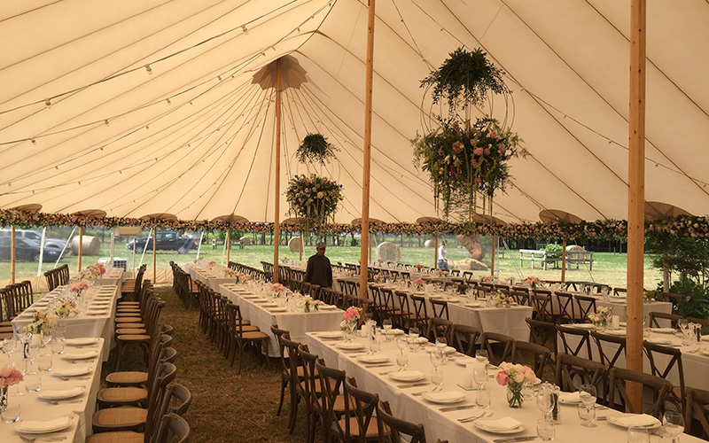 Flagship events wedding tent hawkes bay