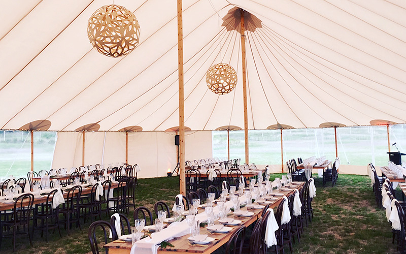 Hawkes Bay marquee hire Flagship Tents