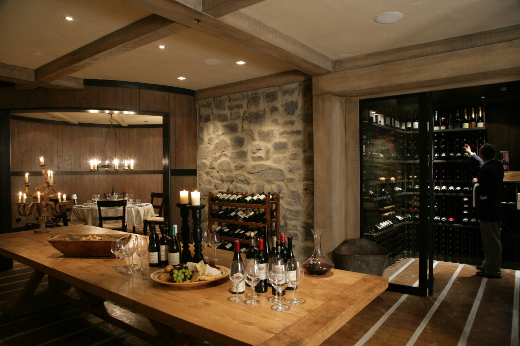 Cape Kidnappers' Wine Cellar