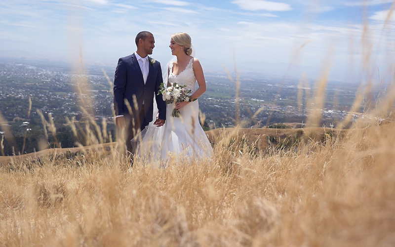 Hawkes Bay Wedding video Grant Mayer