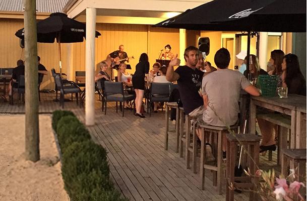 The Bar at No. 5 Café & Larder