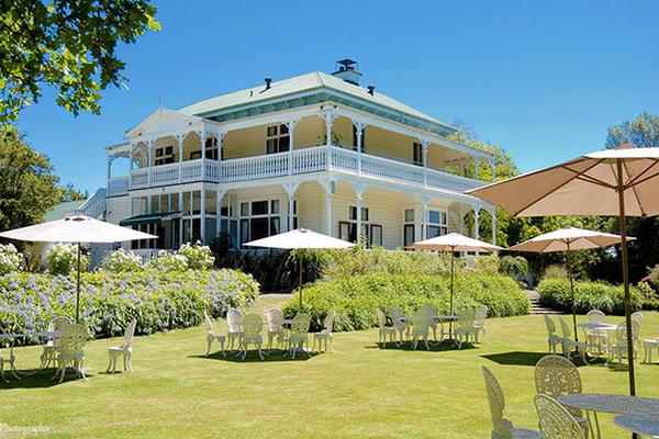 Garden at Ormlie Lodge
