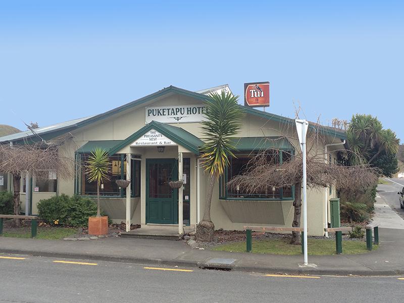 The Puketapu Dining Room