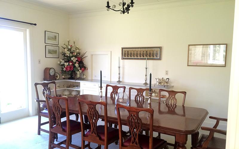 Dining reception Punawaitai Hawkes Bay
