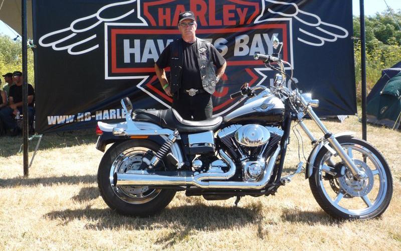 Rent HB Harley Motorbike