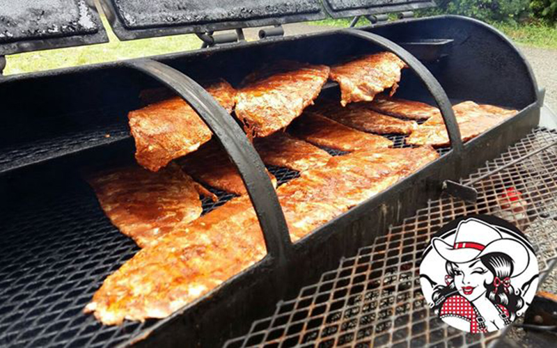 Bare knuckle BBQ mobile catering
