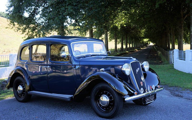 Hire Napier Classic Cars Austin 12