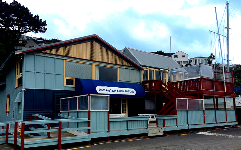 Evans Bay Yacht & Motor Boat Club Lounge