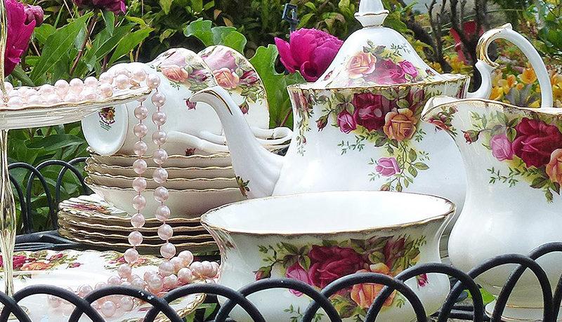 Garden party High Tea Hire