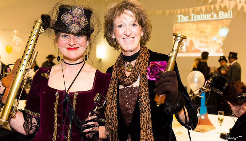 Fancy dress Steam Punk Themed party