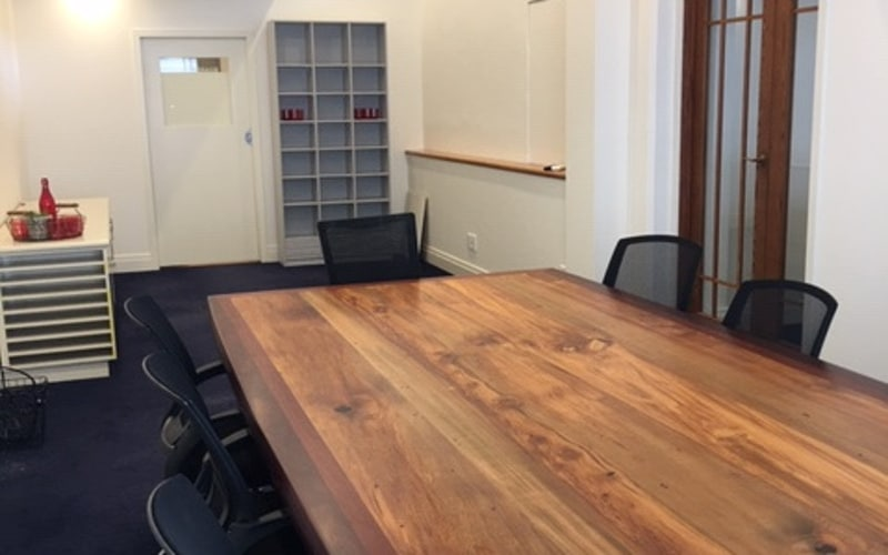 Boardroom at The Daily Telegraph Building in Napier